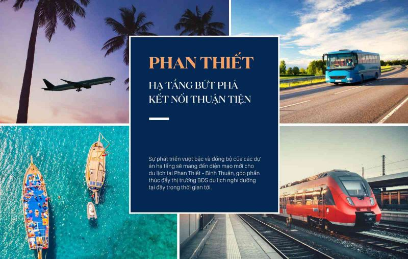 Thuận lợi kết nối Vị trí dự án Novaworld Phan Thiết -Bình Thuận