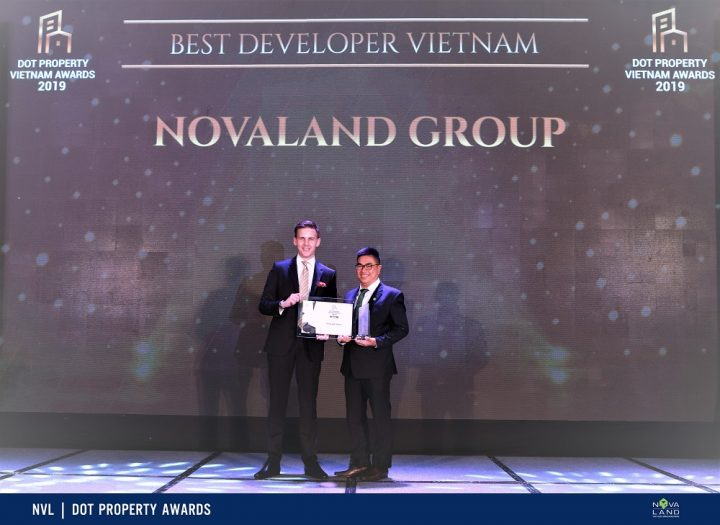 Novaland đạt giải Best Developer Vietnam tại Dot Property Awards 2019
